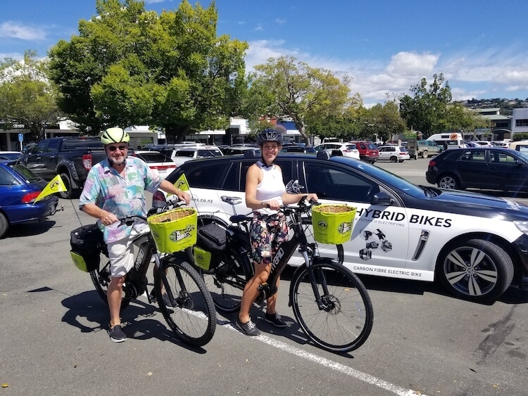 Hybrid Bikes take off at Nelson's March Fest